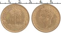 Изображение Монеты Западная Африка 2 шиллинга 1938 Бронза XF+ Георг VI (м.д.Хитон)