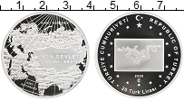 Изображение Монеты Турция 20 лир 2020 Серебро Proof Великая Империя Хунн