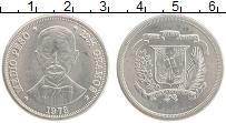 Продать Монеты Доминиканская республика 1/2 песо 1978 Медно-никель