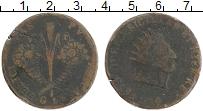 Изображение Монеты Сицилия 10 грани 1814 Медь VF