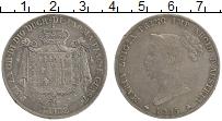 Изображение Монеты Парма 5 лир 1815 Серебро VF+ Мария Луиза