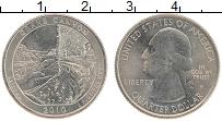 Изображение Монеты США 1/4 доллара 2010 Медно-никель UNC P. Дж.Вашингтон. Нац