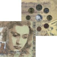 Изображение Подарочные монеты Греция Набор 2010 года 2010  UNC