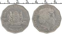 Изображение Монеты Австралия 50 центов 2001 Медно-никель XF Елизавета II. 100-ле