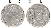 Изображение Монеты Доминиканская республика 25 сентаво 1960 Серебро XF