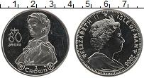 Изображение Монеты Остров Мэн 1 крона 2006 Медно-никель UNC 80-летие Елизаветы I