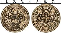 Изображение Монеты Великобритания Жетон 0 Серебро UNC Королева на троне