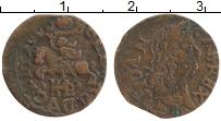 Изображение Монеты Польша 1 солид 1666 Медь VF Ян II Казимир