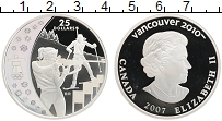 Изображение Монеты Канада 25 долларов 2007 Серебро Proof Елизавета II. XXI Зи