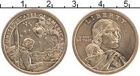 Изображение Монеты США 1 доллар 2019 Латунь UNC Р, Cакагавея. Инжене