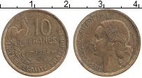 Изображение Монеты Франция 10 франков 1952 Бронза XF