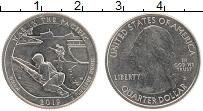 Изображение Монеты США 1/4 доллара 2019 Медно-никель UNC D. Дж.Вашингтон. Нац