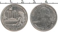 Изображение Монеты США 1/4 доллара 2019 Медно-никель UNC P. Дж.Вашингтон. Аме