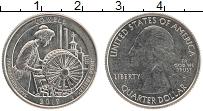 Изображение Монеты США 1/4 доллара 2019 Медно-никель XF 46 парк.Парк Лоуэлл