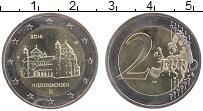 Изображение Монеты Германия 2 евро 2014 Биметалл UNC F. Федеральные земли