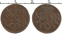 Продать Монеты Вюрцбург 1/2 пфеннига 0 Медь