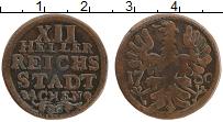 Продать Монеты Ахен 12 хеллеров 1760 Медь