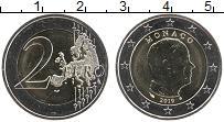 Продать Монеты Монако 2 евро 2009 Биметалл