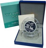 Изображение Подарочные монеты Франция 50 евро 2010 Серебро Proof