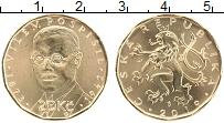 Изображение Монеты Чехия 20 крон 2019 Латунь UNC Вилем Поспишил