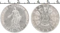 Изображение Монеты Австрия 25 шиллингов 1956 Серебро UNC- 200 лет со дня рожде