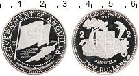 Продать Монеты Ангилья 2 доллара 1969 Серебро