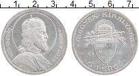 Изображение Монеты Венгрия 5 пенго 1938 Серебро XF 900 лет со дня смерт