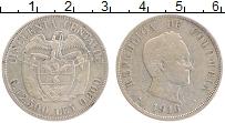 Изображение Монеты Колумбия 20 сентаво 1916 Серебро XF-