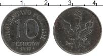 Изображение Монеты Польша 10 пфеннигов 1917 Железо XF Немецкая оккупация
