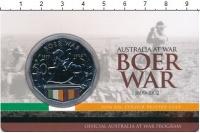 Изображение Подарочные монеты Австралия 50 центов 2014 Медно-никель UNC Цветная  эмаль.  Ели