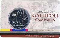 Изображение Подарочные монеты Австралия 50 центов 2014 Медно-никель UNC