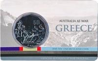 Изображение Подарочные монеты Австралия 50 центов 2015 Медно-никель UNC Греция. Монета наход
