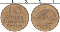 Продать Монеты Данциг 10 пфеннигов 1932 Бронза