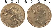 Изображение Монеты Австралия 5 долларов 2000 Латунь UNC Олимпийские игры в С