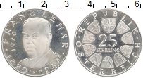 Изображение Монеты Австрия 25 шиллингов 1970 Серебро Proof- Франц Легар