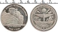 Изображение Монеты Маршалловы острова 5 долларов 1991 Медно-никель UNC- Перл Харбор