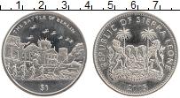 Изображение Монеты Сьерра-Леоне 1 доллар 2005 Медно-никель UNC- Битва за Берлин