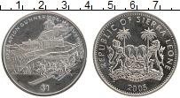 Изображение Монеты Сьерра-Леоне 1 доллар 2005 Медно-никель UNC- Операция Тяжёлая вод