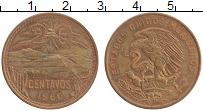Изображение Монеты Мексика 20 сентаво 1960 Бронза XF