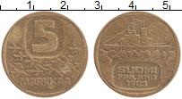 Изображение Монеты Финляндия 5 марок 1983 Латунь XF
