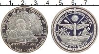 Изображение Монеты Маршалловы острова 50 долларов 1994 Серебро Proof Герои войны