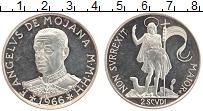 Изображение Монеты Мальтийский орден 2 скуди 1966 Серебро Proof- Магистр Ангело Моджа