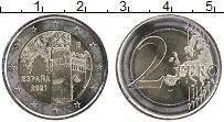 Изображение Мелочь Испания 2 евро 2021 Биметалл UNC Исторический город Т