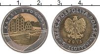 Продать Монеты Польша 5 злотых 2015 Биметалл
