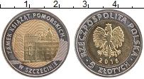 Продать Монеты Польша 5 злотых 2016 Биметалл