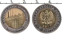 Продать Монеты Польша 5 злотых 2017 Биметалл