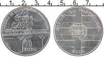 Изображение Монеты Португалия 10 евро 2006 Серебро UNC- 20 лет вступления По