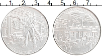 Изображение Монеты США 1 унция 0 Серебро UNC Дикий запад. Ковбой