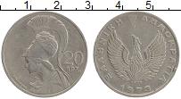 Изображение Монеты Греция 20 драхм 1973 Медно-никель XF