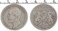 Изображение Монеты Швеция 2 кроны 1900 Серебро VF Оскар II